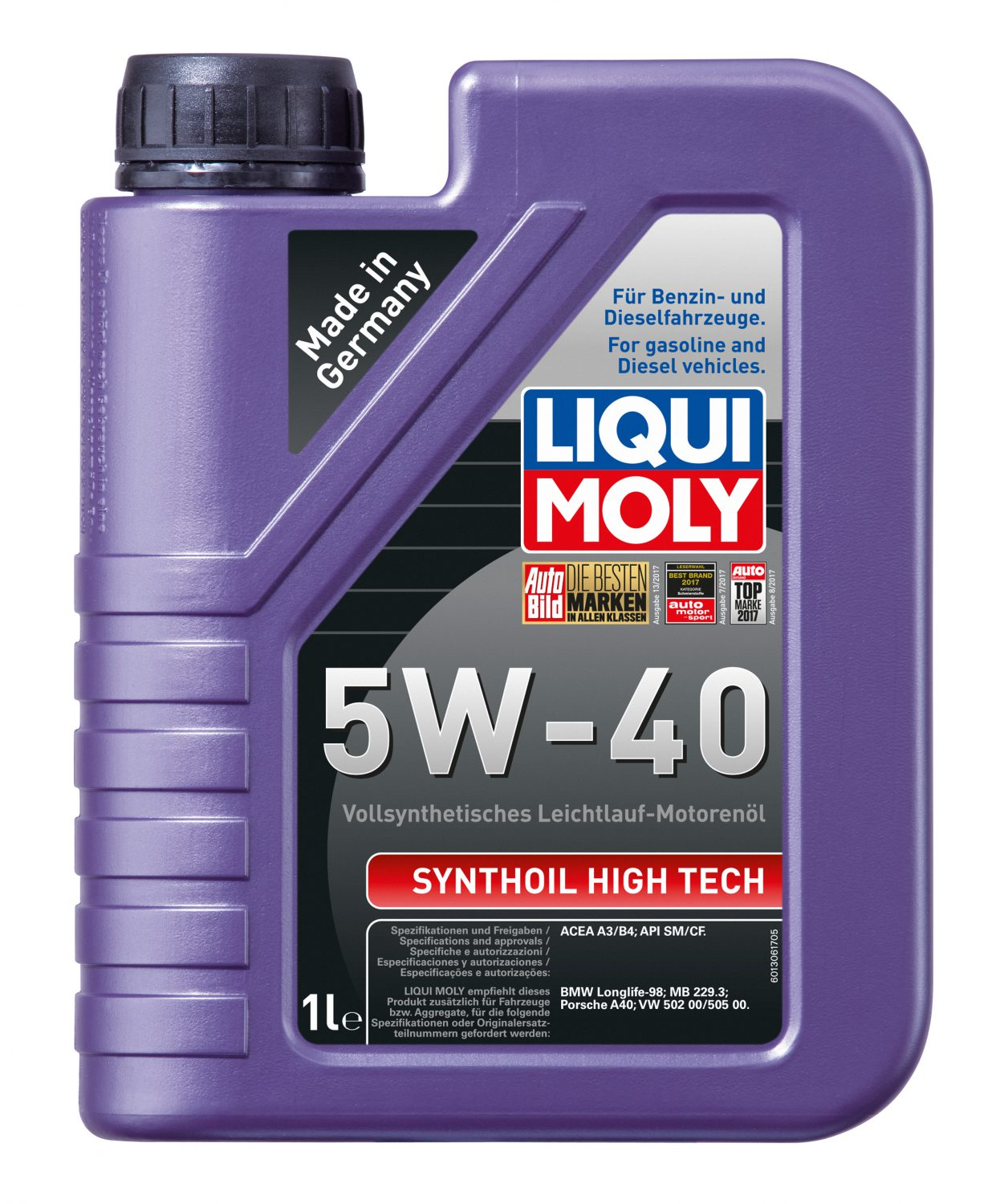 liqui moly leichtlauf high tech 5w 40 meister werks. Black Bedroom Furniture Sets. Home Design Ideas