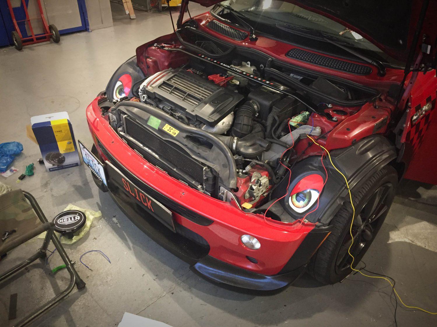 2005 Mini Cooper S Fog Light Install Meister Werks Renton Auto Lights Wiring Diagram