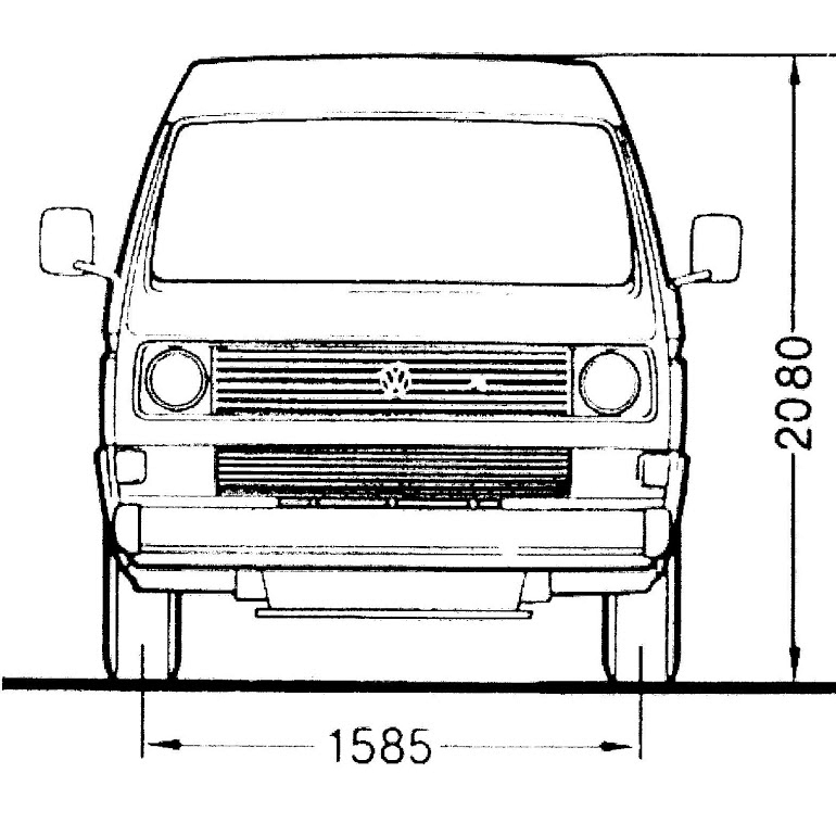 Vanagon - Van - Bus - T3